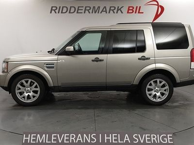 begagnad Land Rover Discovery 4 3.0 TDV6 (256hk)
