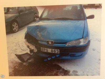 begagnad Peugeot 306 rep.objekt -98