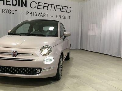 begagnad Fiat 500C STAR 1.2L 69HK SERIE 7 MY20