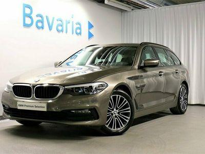 begagnad BMW 520 d xDrive Touring Värmare Nav Drag Läder