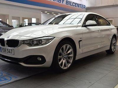 begagnad BMW 420 Gran Coupé d xDrive dA SportLine / 1 Ägare