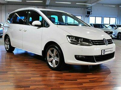 begagnad VW Sharan 2.0 TDI 140 HK Premium Pano Navi Drag