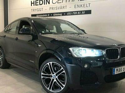begagnad BMW X4 XDRIVE20D M SPORT Värmare Nav drag
