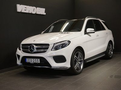begagnad Mercedes GLE350 d 4M 350d 4MATIC 9G-Tronic AMG Panorama