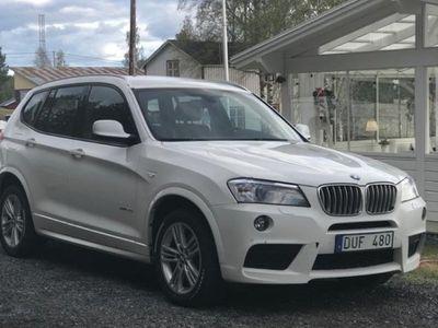 begagnad BMW X3 3.0 Xdrive M-sport