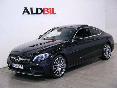 begagnad Mercedes C220 C Benzd 4M Coupé 220d 4MATIC AMG-Line Premiumpkt 2019, Sportkupé Pris 339 000 kr