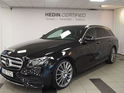 begagnad Mercedes E350 - Benz4Matic AMG BURMASTER PANORAMA