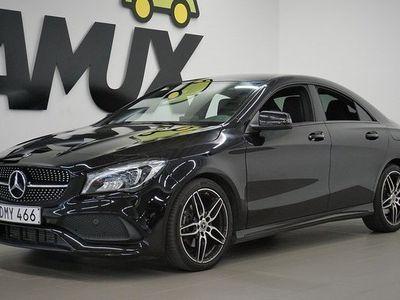 begagnad Mercedes 180 CLA BenzAut   AMG   Night   2017, Sportkupé 249 800 kr