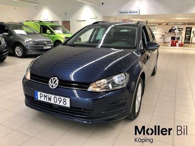 begagnad VW Golf Variant 1,2 TSI 105 MASTERS Drag M-värmare V-hjul