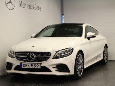 begagnad Mercedes C220 d Coupé AMG Line
