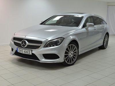 begagnad Mercedes CLS350 Shooting Brake d 4MATIC 9G-Tronic AMG Sport Euro 6 258hk