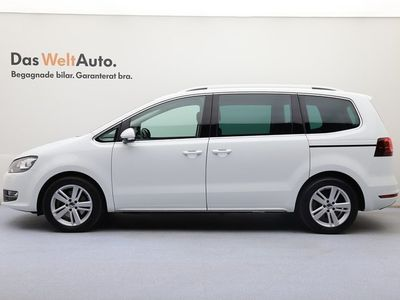 begagnad VW Sharan TDI184 DSG 4M Premium/Drag/Pvärm