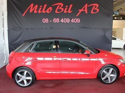 brugt Audi A1 1.6 TDI SPORT AUT PDC LÅGMIL 2014, Halvkombi 144 900 kr