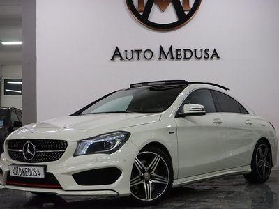 begagnad Mercedes 250 CLA Benz4MATIC 7G-DCT Sport Edition, AMG Sport Euro 6 2016, Sportkupé 259 900 kr