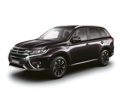 begagnad Mitsubishi Outlander 2.0 CVT 4WD Business 7-Sitsig Inkl. Vinterhjul