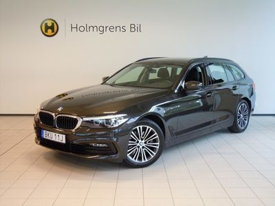 begagnad BMW 520 d xDrive Touring Sport Line Navigation Winter