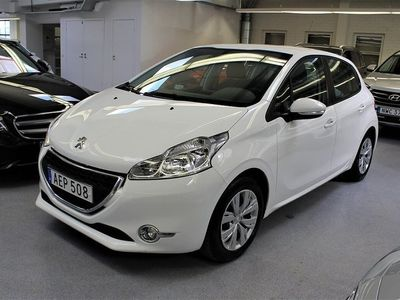 begagnad Peugeot 208 5-dörrar 1.2 VTi 82hk