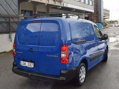 begagnad Peugeot Partner 1.6 HDI En Ägare Lång Momsbil -11