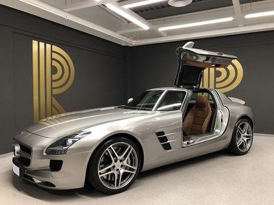 usata Mercedes SLS AMG (571hk) Sv-såld / 1-ägare / Alubeam