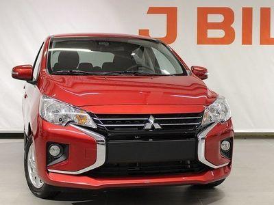begagnad Mitsubishi Space Star Komfort 1.2 AS&G Automat 2020, Halvkombi Pris 159 400 kr