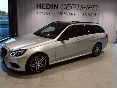 begagnad Mercedes 220 - Benz E - KLASSBluetec 4MATIC / / AMG Paket