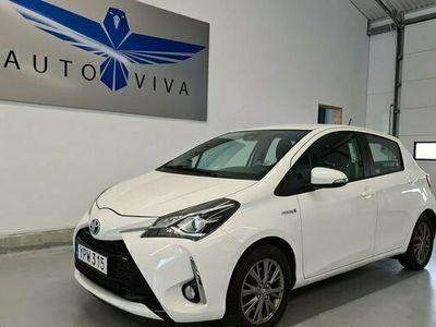 begagnad Toyota Yaris 1.5 Hybrid AUT EURO 6 2017, Halvkombi Pris 109 900 kr
