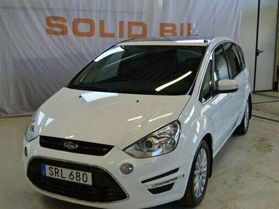 begagnad Ford S-MAX 2.0 TDCi Aut/7-sits/Läder/D-värmare/Panorama