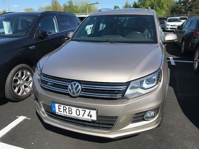 begagnad VW Tiguan 2.0 TDI 4Motion Bluemotion Technology (184hk) -16