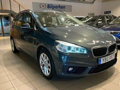 begagnad BMW 218 Gran Tourer d Steptronic Sport line Euro 6 7-sits 2016, Minibuss Pris 189 900 kr