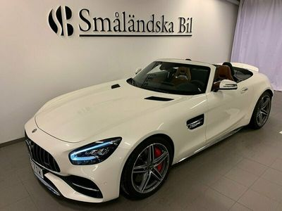 begagnad Mercedes AMG GT C Roadster Exclusive Leather, AMG Dynamic Plus Euro 6 557hk