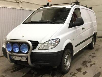 begagnad Mercedes Vito 115 CDI Skåp 4x4 W639