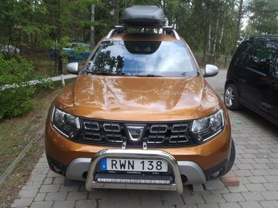 begagnad Dacia Duster 4x4 Prestige, 750 mil, nyservad