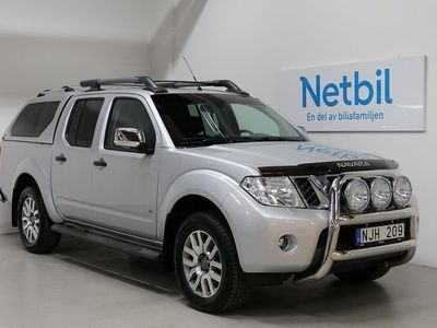 begagnad Nissan Navara Double Cab 3.0 dCi 4x4 231hk Drag / P-värm