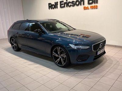 begagnad Volvo V90 D4 AWD R-Design 2020, Kombi 529 500 kr