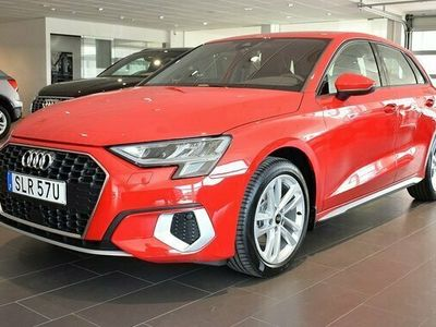 "begagnad Audi A3 Sportback 35 TFSI Aut 17"" choice 2021, Halvkombi Pris 269 000 kr"
