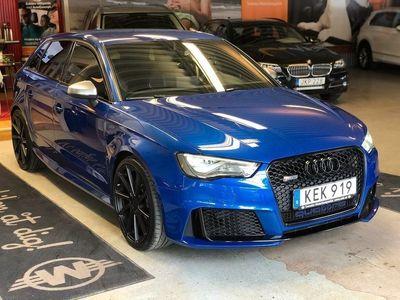 begagnad Audi RS3 Sportback Navi Miltek B&O Nyservad Magnetic