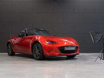 begagnad Mazda MX5 2.0 160hk Cabriolet / Navi / Läder / Softtop