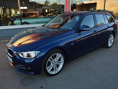 begagnad BMW 318 d dA Model Sport / Drag / 18tum / LED
