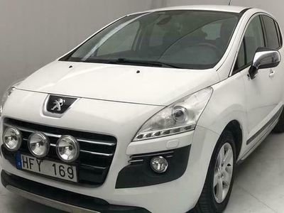 begagnad Peugeot 3008 HYbrid4 2013, SUV Pris 62 000 kr