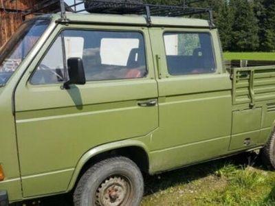 begagnad VW T3 pickup Ddiesel 9000mil -84