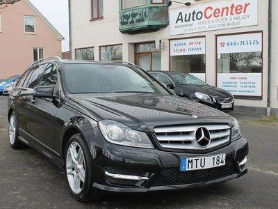 begagnad Mercedes C200 T CDI BlueEFFICIENCY 7G-Tronic Plus AMG Sport 136hk