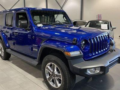 begagnad Jeep Wrangler 2.0T 4WD 271HK Sahara