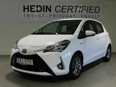 begagnad Toyota Yaris Hybrid 1.5 VVT - i CVT AUT 101HK