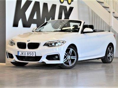 begagnad BMW 220 Convertible   M-Sport   Navi   Skinn 184hk