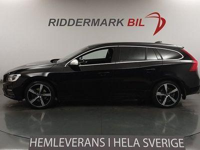 begagnad Volvo V60 D3 R-Design Eu6 Navi Voc Drag Värmare Voc