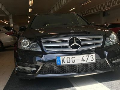 brugt Mercedes 220 C-KlassT CDI 7G-Tronic Plus AMG Sport 170hk