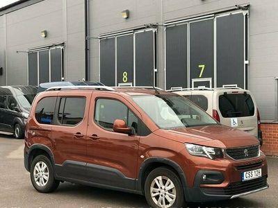begagnad Peugeot Rifter Handikappanpassad Rullstolsbil