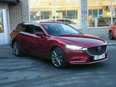 begagnad Mazda 6 Optimum Wagon 2.5 (194hk) Se spec !
