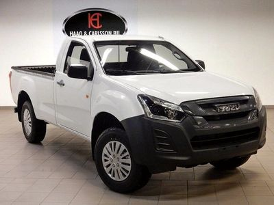 begagnad Isuzu D-Max Single Cab 4WD Dragkrok