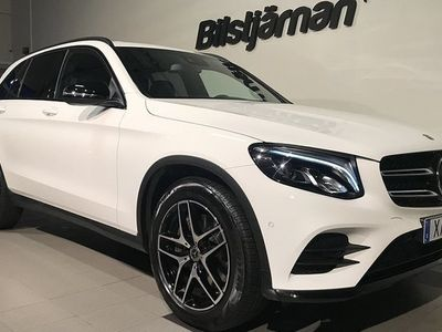 begagnad Mercedes 220 GLC Benzd 4MATIC 9G-Tronic Euro 6 2019, SUV 489 000 kr
